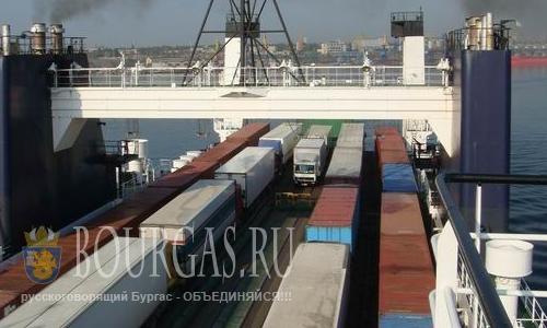 Паром порт Варна - Кавказ