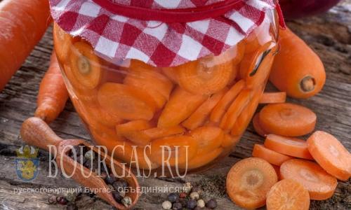 Рецепты болгарской кухни - морковь по болгарски