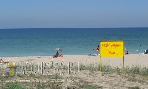 Неохраняемый пляж Болгарии