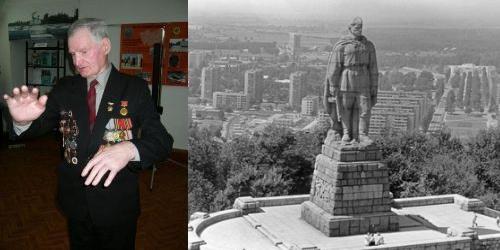 Алексей Скурлатов - прототип памятника Алеши в Пловдиве