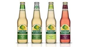 сомерсби, фруктовое пиво, Сидр Сомерсби, три вида