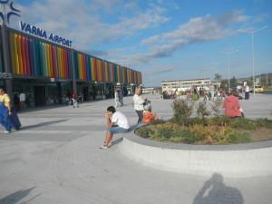 Туристический переполох, аэропорт Варны, Аэропрот Варны