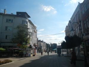 Город Варна улицы варны центр
