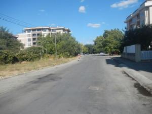 Пешком в св константин и елена, улица болгарии, дорога в святой константин
