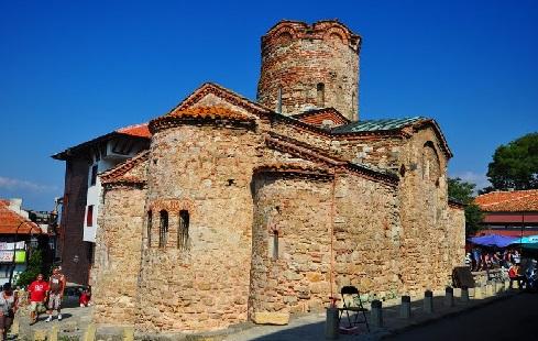 Храм Посейдона в Болгарии Несебр