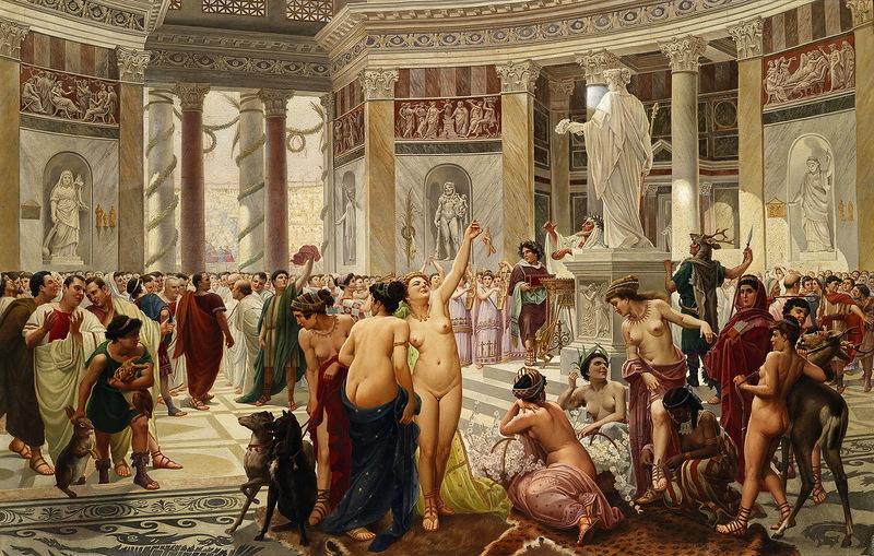 культ приапа оргия древний рим