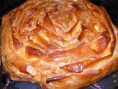 баница - слоенный болгарский пирог