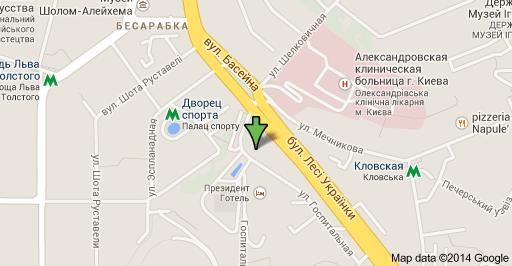 Посольство Болгарии в Украине в городе Киев госпитальная