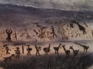Рисунки в пещере Магура, магура древние изображения