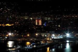 Жизнь пенсионеров в Болгарии, ночная варна