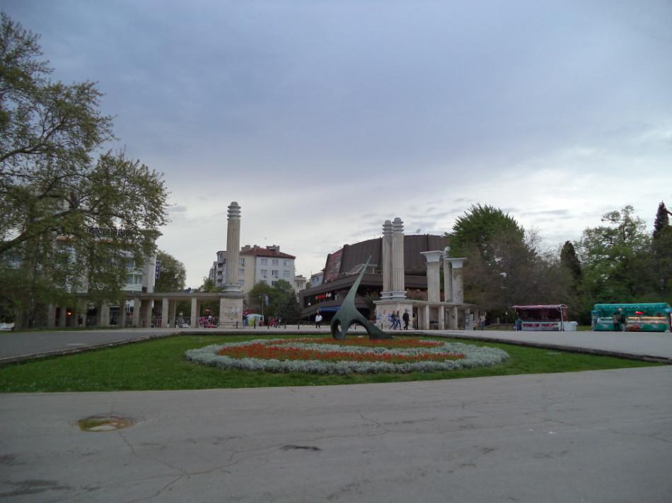 Приморский Парк Варна центральный вход фото
