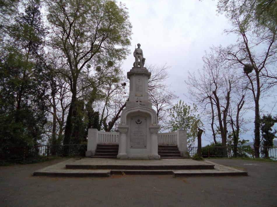 Памятник воинам-пограничникам Приморский Парк Варна