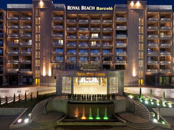 отель барсело роял бич солнечный берег