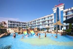 Отель Котва солнечный берег фото аквапарка