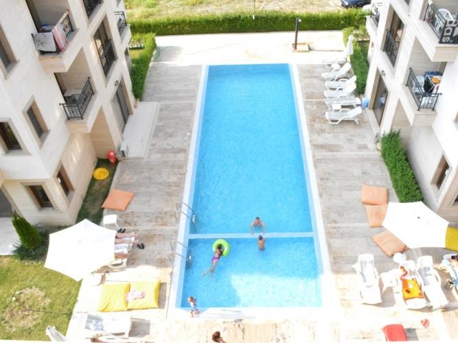 Отель Амара курорт Солнечный Берег Болгария бассейн