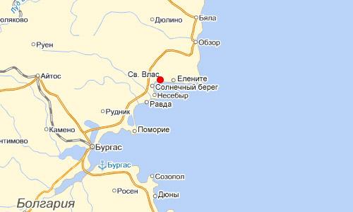 святой влас карта болгарии