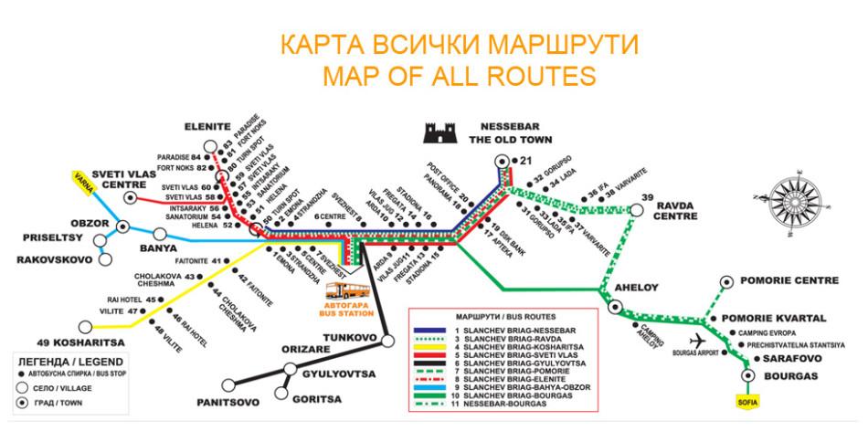 Святой влас болгария транспорт