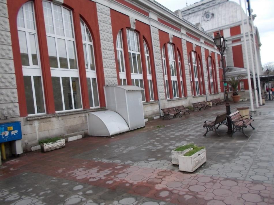 ЖД вокзал города Варна