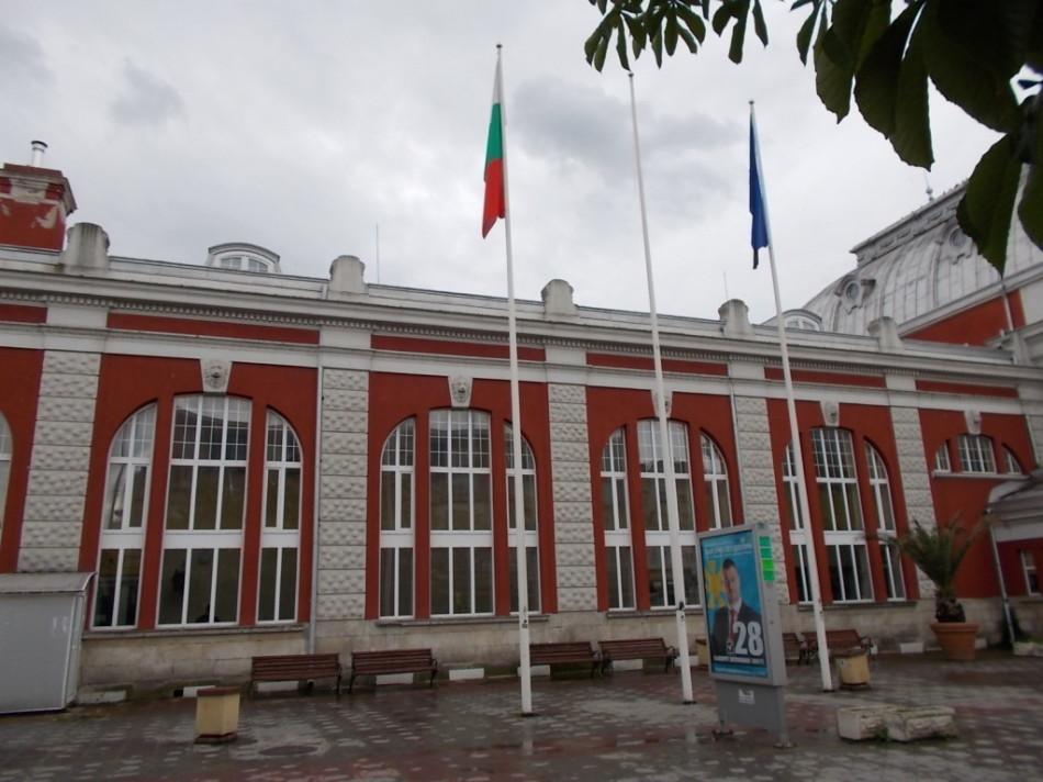 ЖД вокзал в городе Варна