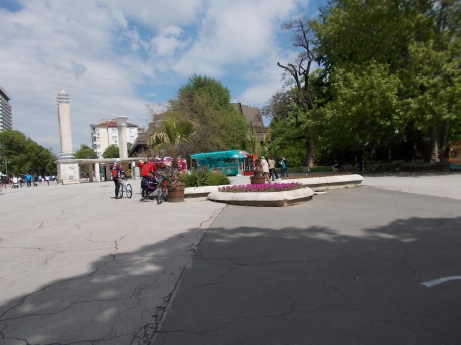Приморский парк Варна фото