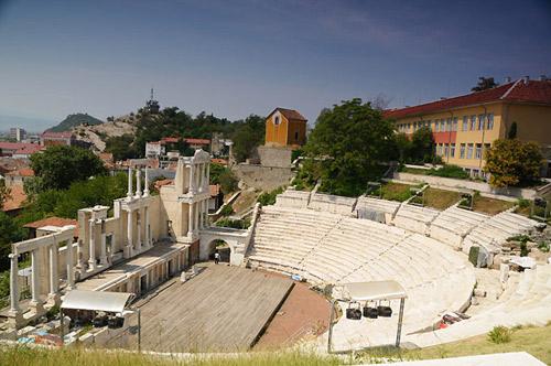 Древнеримский античный театр
