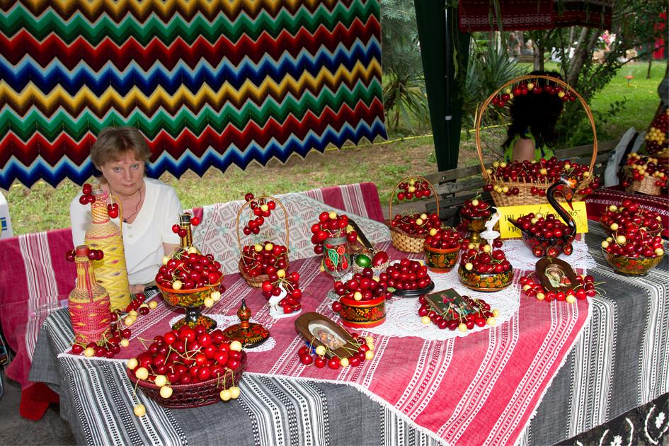 Праздник черешни в городе Кюстендил
