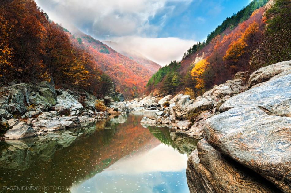30 феноменальных фотографий река Арда Родопы осенью фото