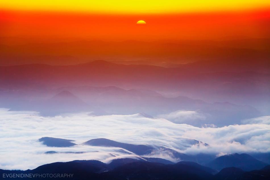 30 феноменальных фотографий снежные горы Пирин зимой