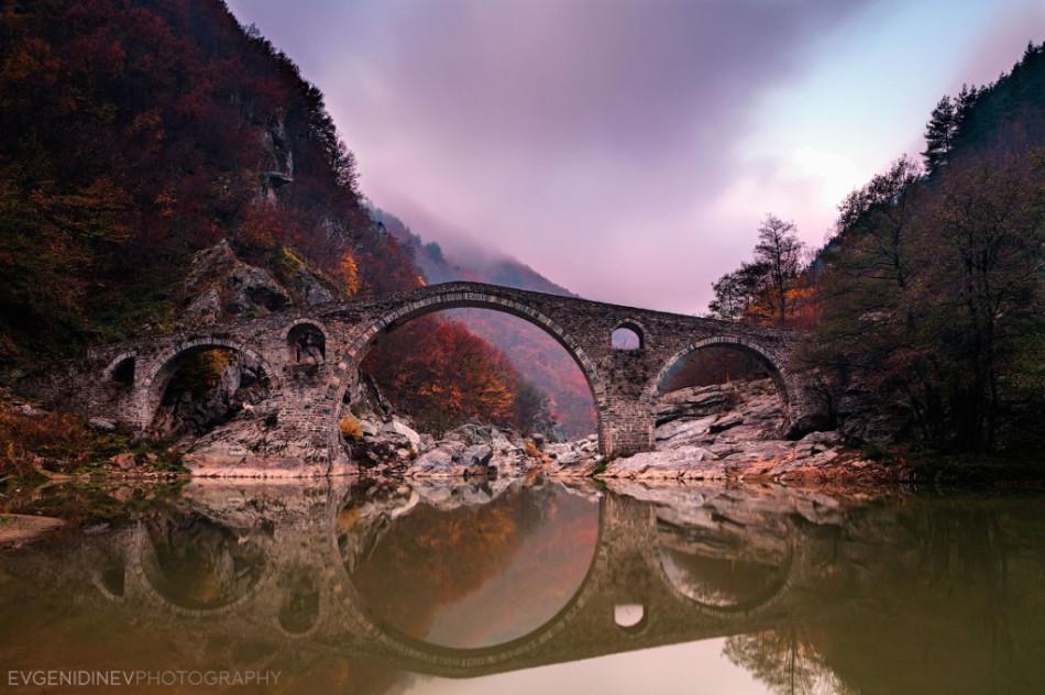 30 феноменальных фотографий дьявольский мост