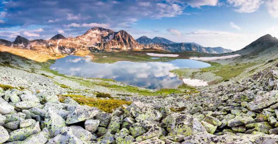 30 феноменальных фотографий- Озеро Тевно в Пириских горах