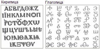 24 мая отмечается день славянской письменности и культуры в Болгарии - глаголица и кириллица