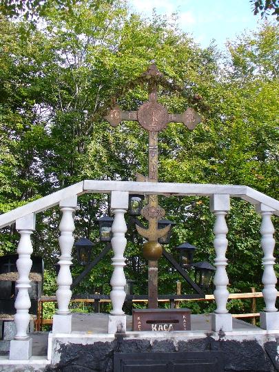 Крестовая гора крест помноженный дважды царем Болгарии Борисом