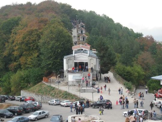 крестовая гора - христианский центр в Болгарии