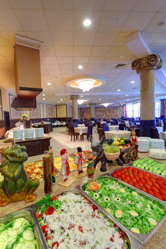отель елена золотые пески Болгария фото ресторан