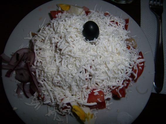 Овчарский салат в тени