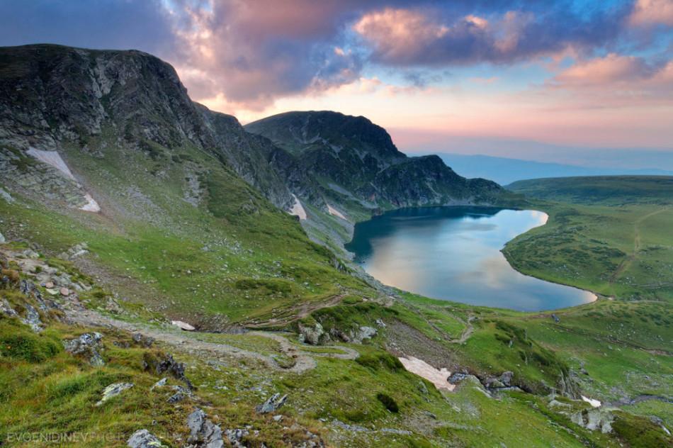 Озеро Быбрека (Бъбрека) фото