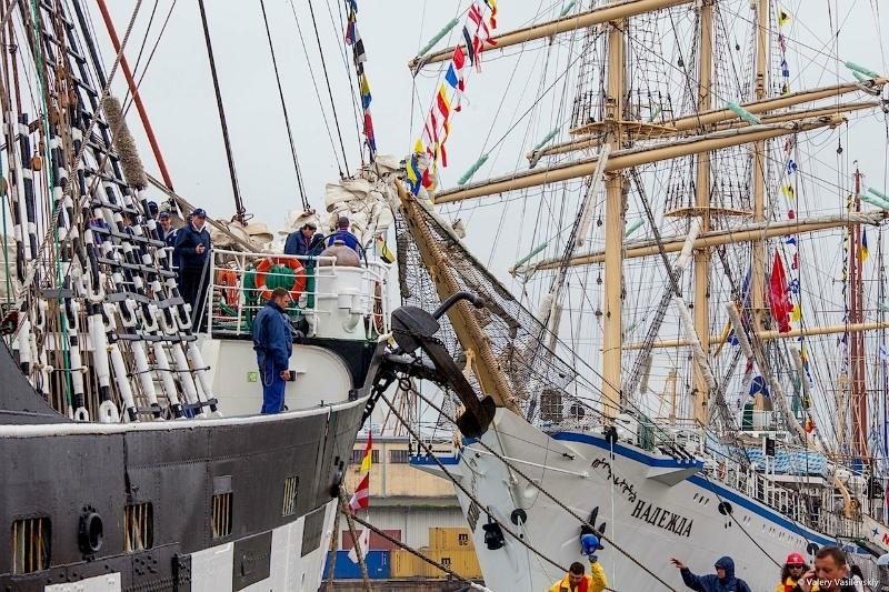 Международная Парусная Регата в Варне Болгария - SCF Black Sea Tall Ships Regatta 2014