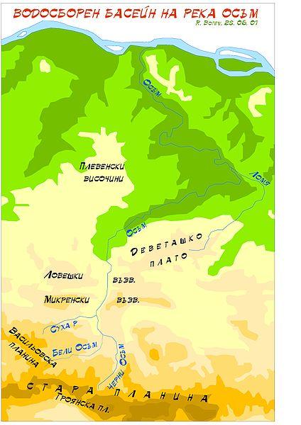 древняя дорожная римская станция река осым