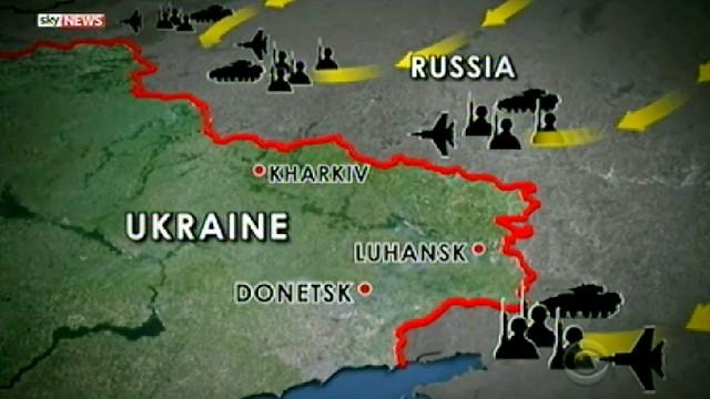Захват Украины из России