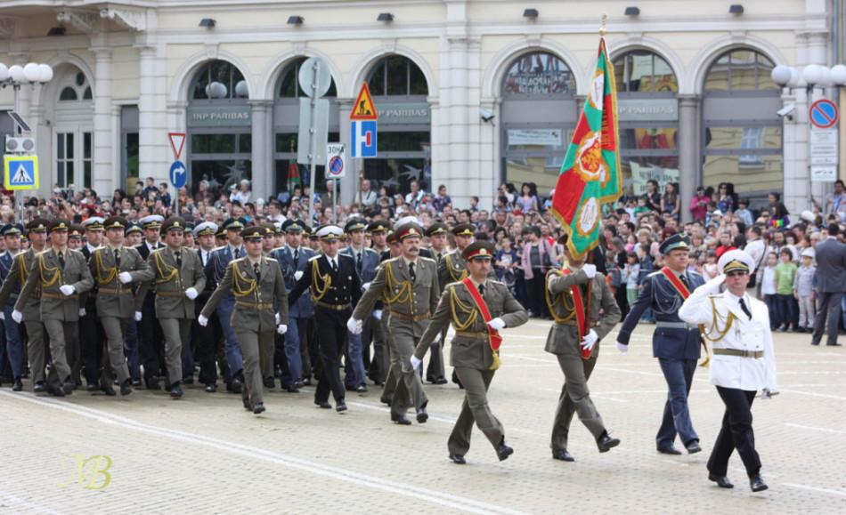 военный парад в софии