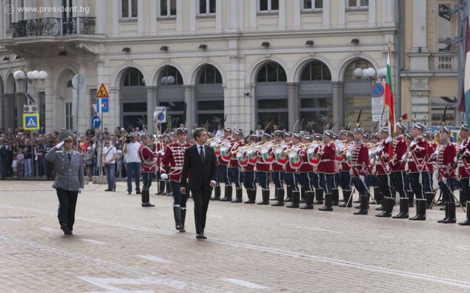 Военный парад в Софии президент Болгарии