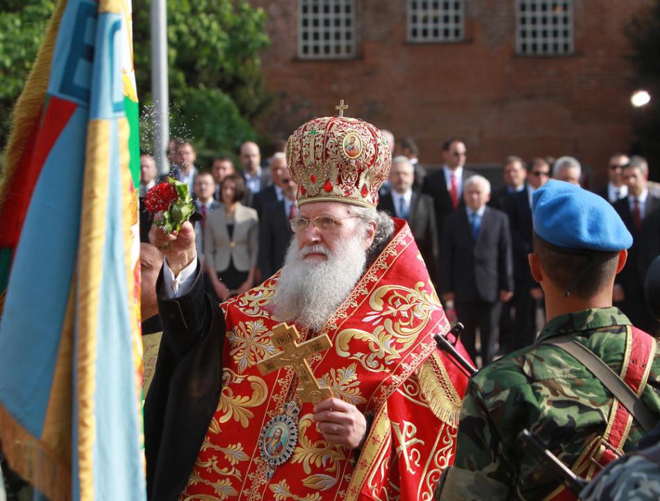 военный парад патриарх болгарский Неофит