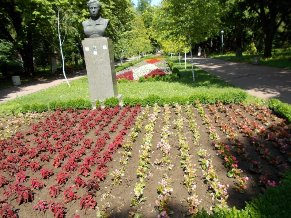 Город Шумен парк памятники
