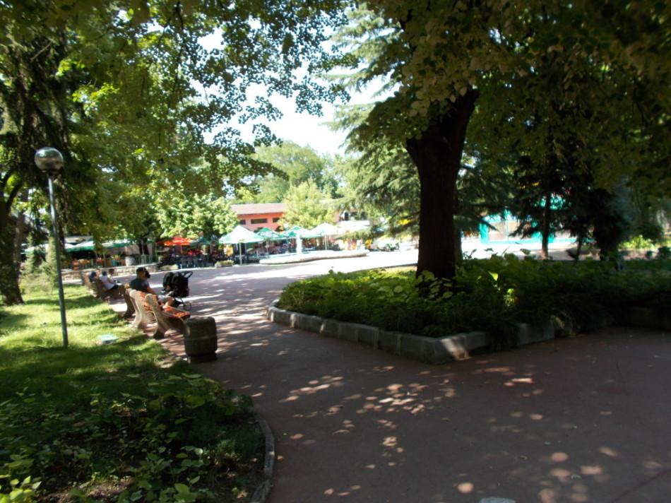Город Шумен парк