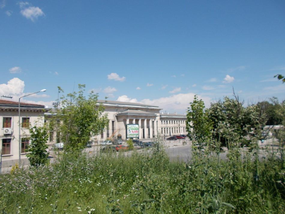 Город Шумен ЖД-вокзал