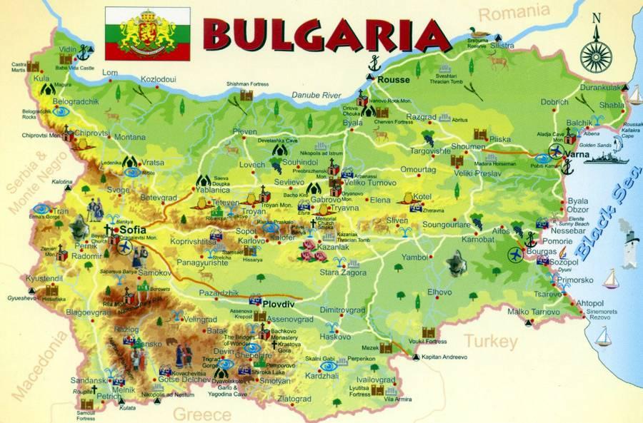 Болгария и её достопримечательности