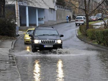 Наводнение в Хасково
