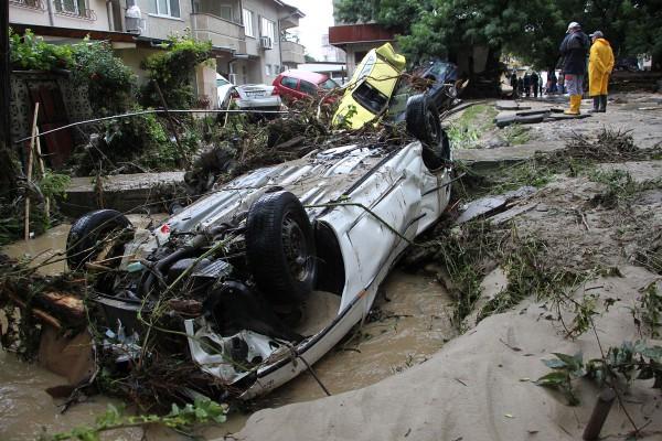 Наводнение Бургас