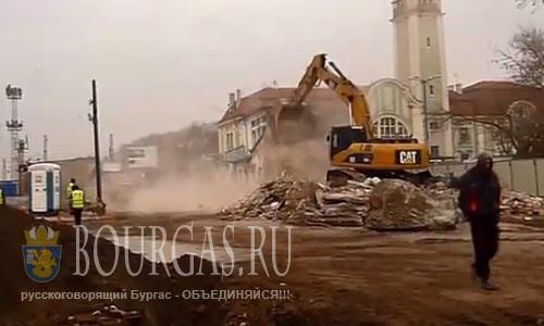 Сломали автовокзал в Бургасе