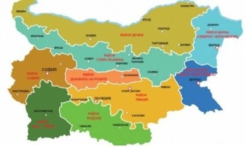 9 туристических зон в болгарии